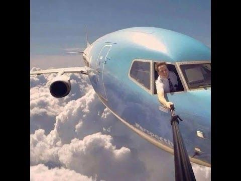 Plane-selfie