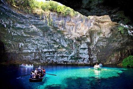 Melissani-Cave